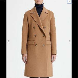 Nwot theory cashmere wool  city coat